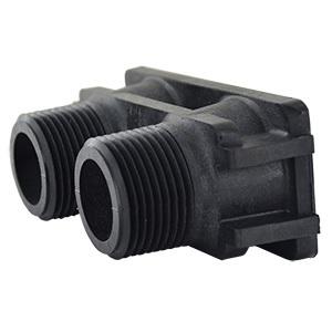 """/& 9000 Valves 2510 PVC Plastic Yoke for Fleck 5600 1-inch Fleck 18706 1/"""""""